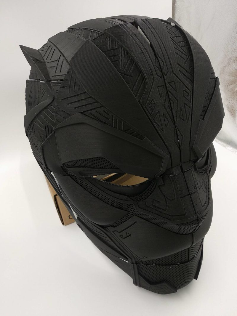 Black Panther from civil war. 3D printable mask