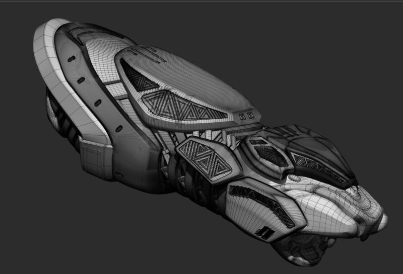 Shuri Vibranium Blasters from Black Panther 3D print model 3demon stl obj