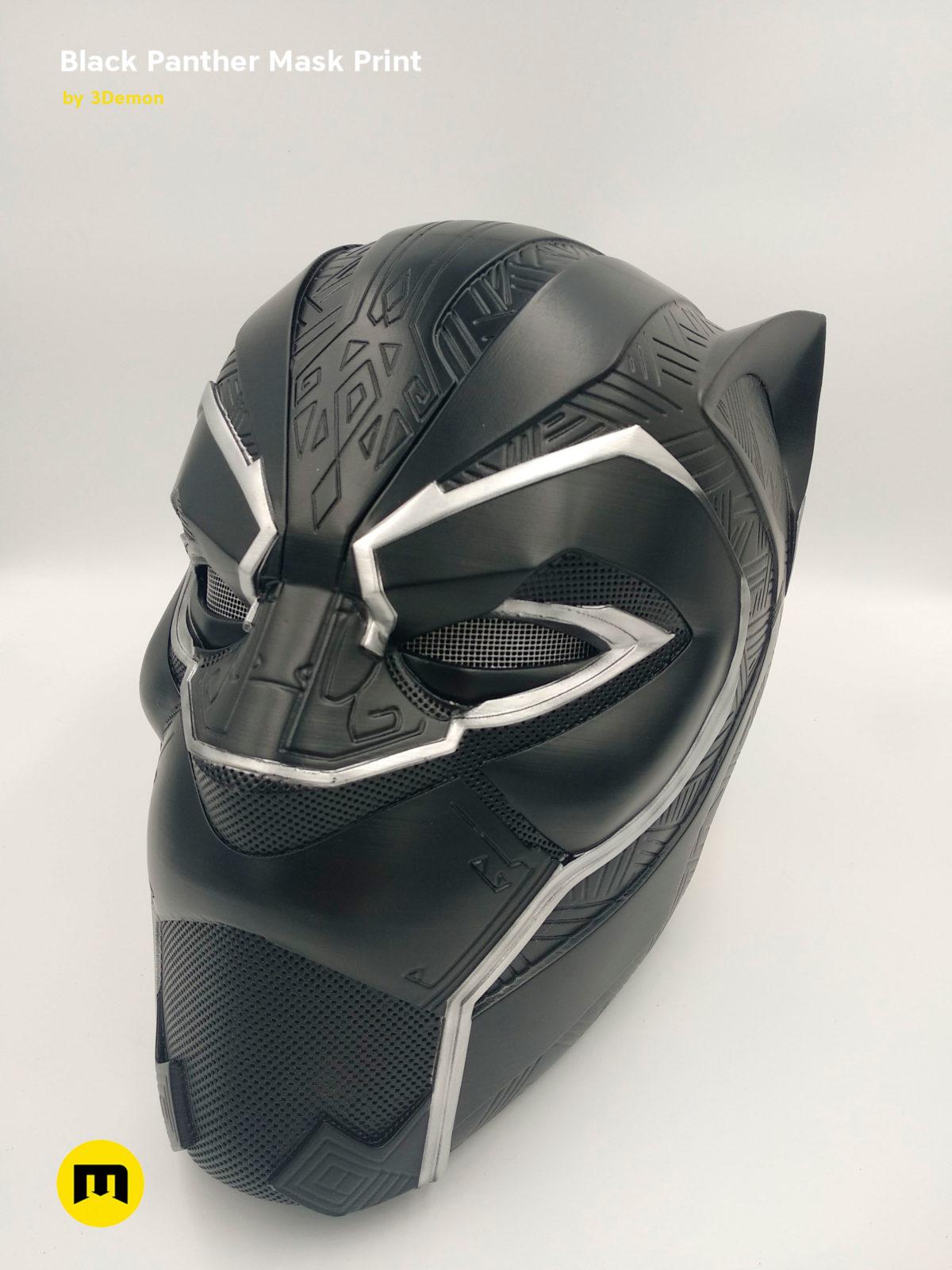 Black Panther Mask 3demon 3d Print Models Download