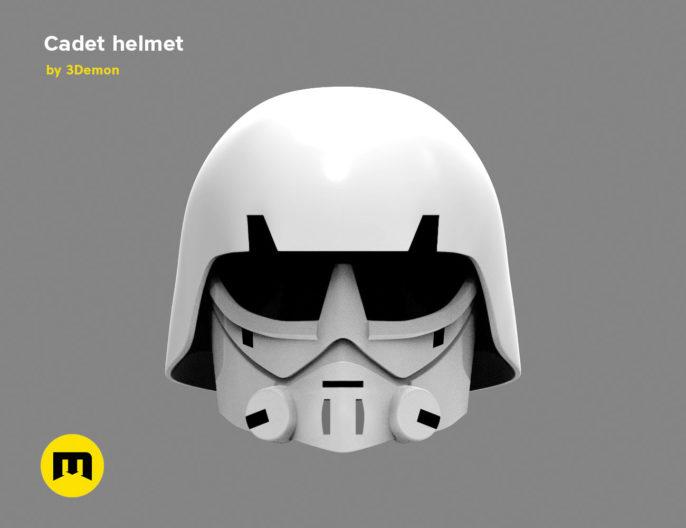 Imperial Cadet helmet 3D print model