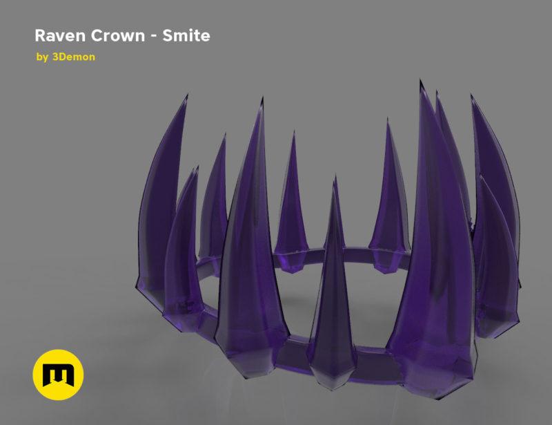 Raven Crown - Smite 3D print model