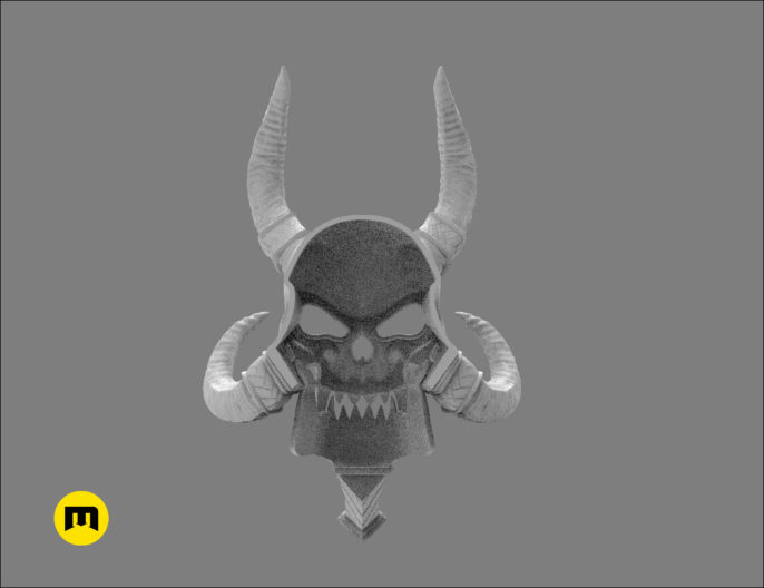 WoW Kel Thuzad Mask 3D print model