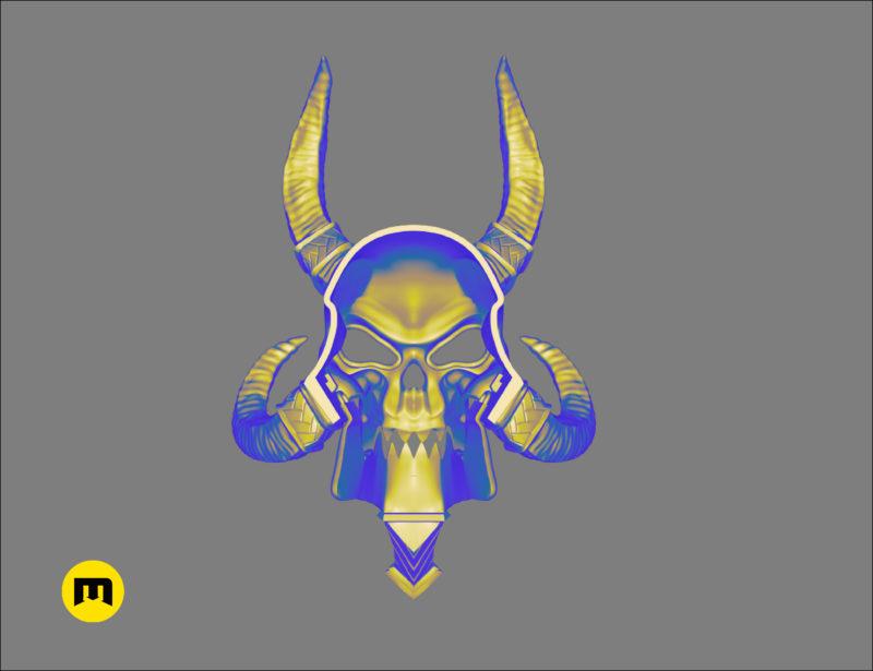 WoW Kel Thuzad Mask 3D print model