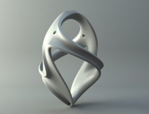 Ornament - oval Free 3D print model