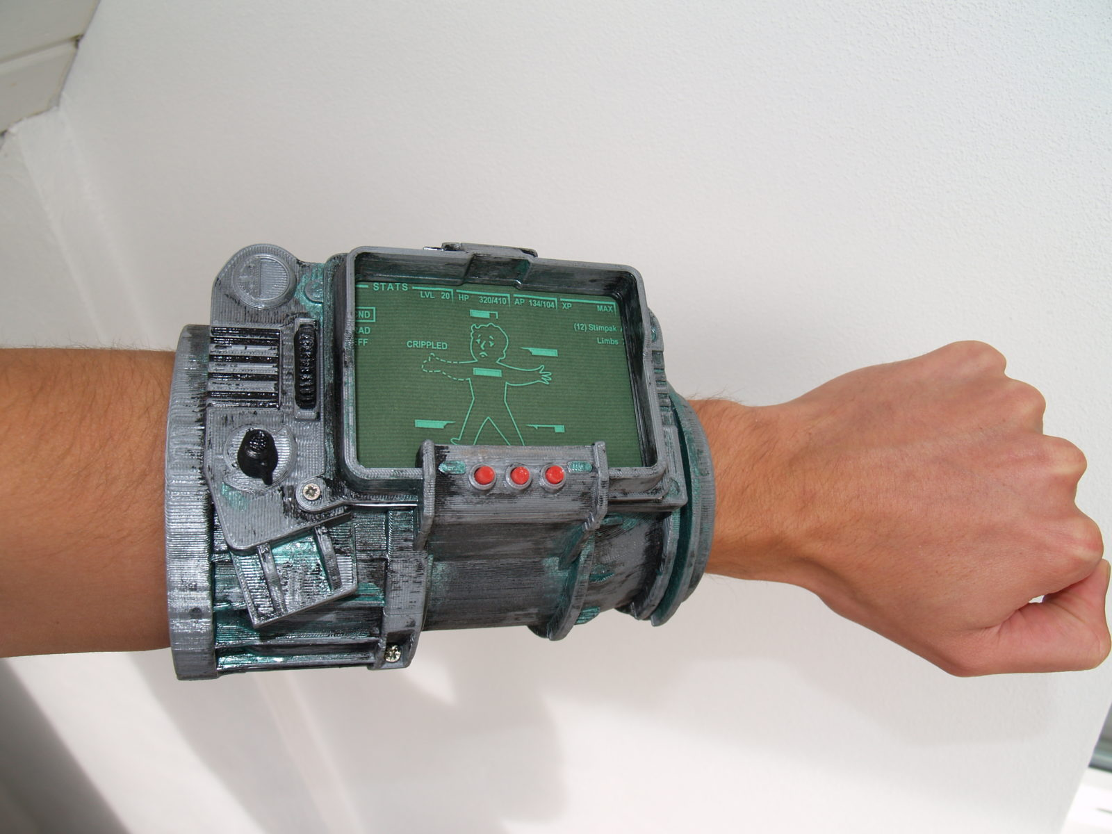 PipBoy 3000 from Fallout 3D print model