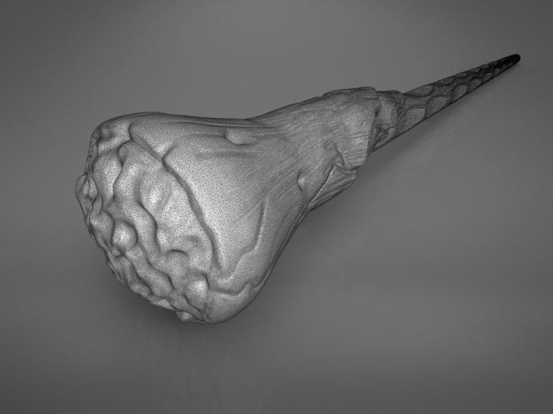 Ron Weasley wand - Harry Potter films 3D print model