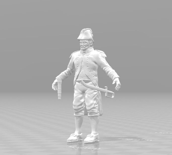 Naval Captain 3D print model