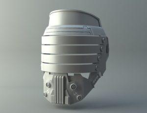 Darth Vindican mask - Star Wars universe 3D print model