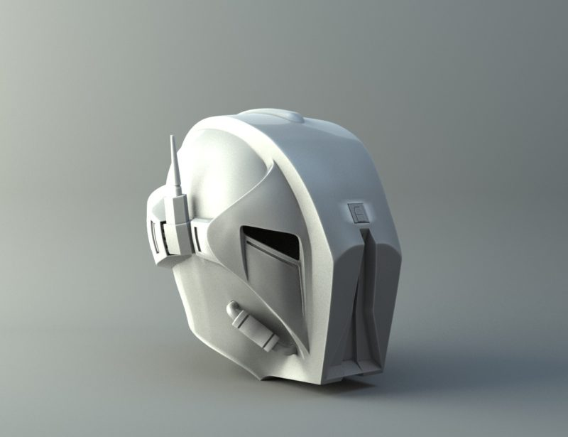 HK47 Assassin Droid - Star Wars - Helmet 3D print model