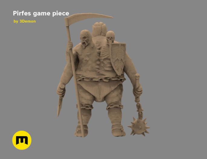 Pirfes figure 3D print model