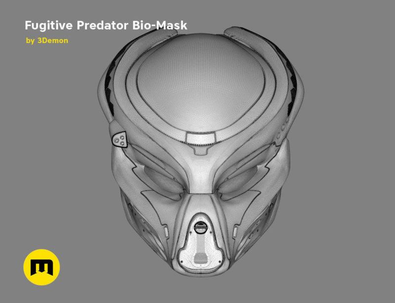 Fugitive Predator Bio-Mask 2018 3D print model