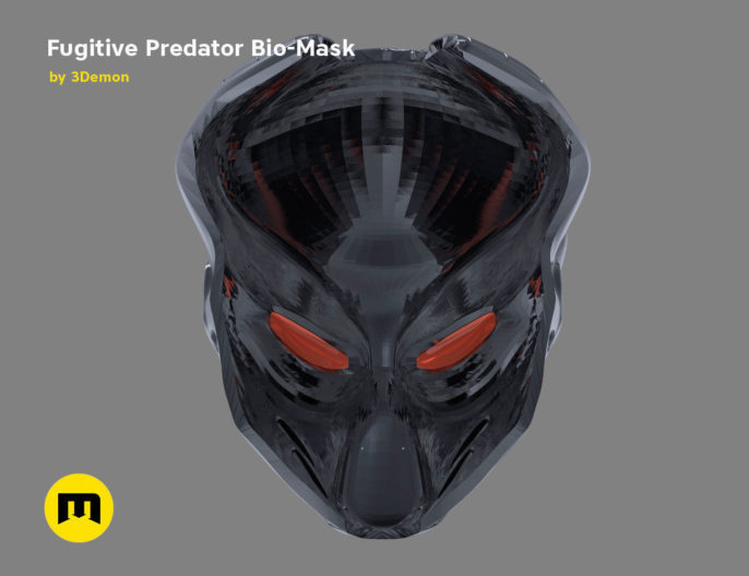 Fugitive Predator Bio-Mask 2018 3D print model