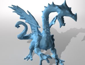 Ice Dragon Free 3D print model