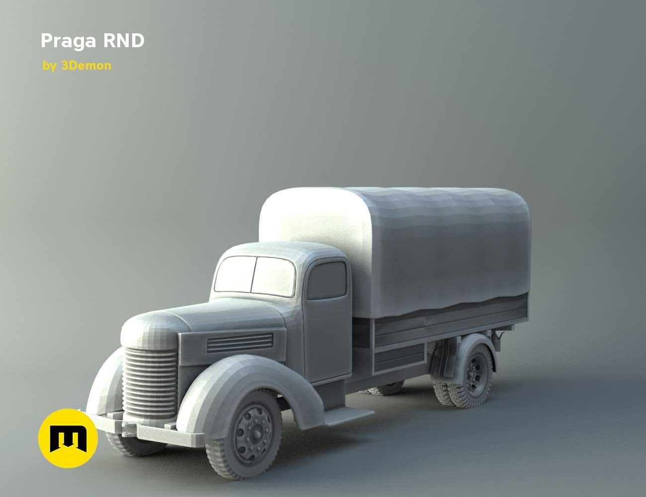 Praga RND 1950 truck