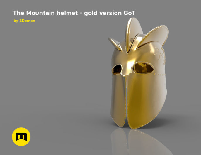 The Mountain Helmet - Game of Thrones 3D print model