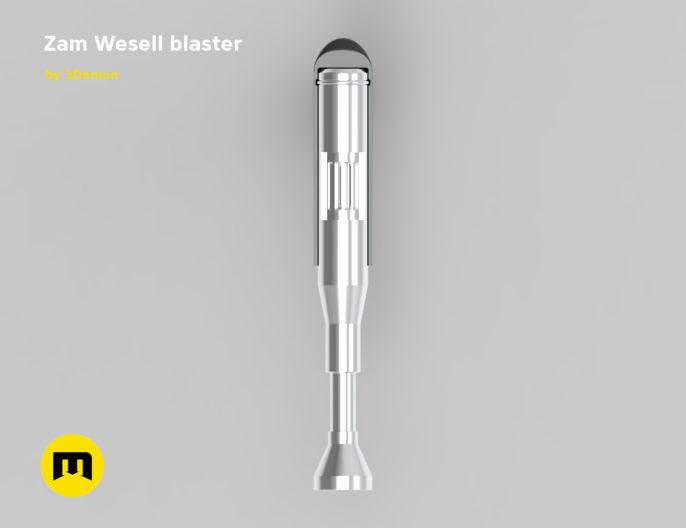 Zam Wesell blaster