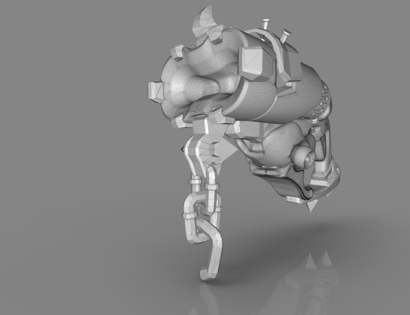 Roadhog scrap gun - Overwatch game 3D print model