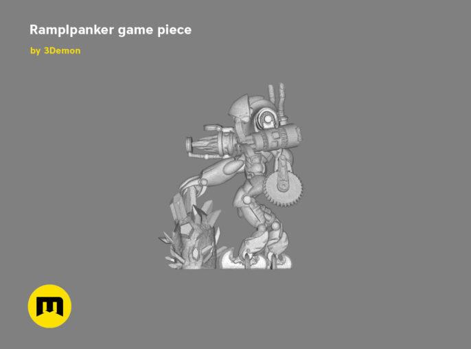 Ramplpanker figure 3D print model