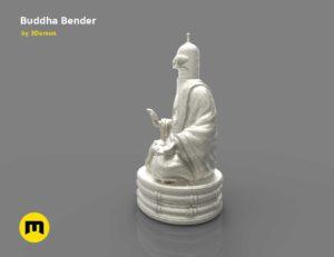 Bender Buddha Statue 3D print model