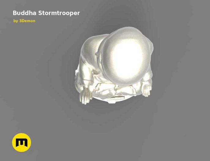 Buddha Stormtrooper 3D print model