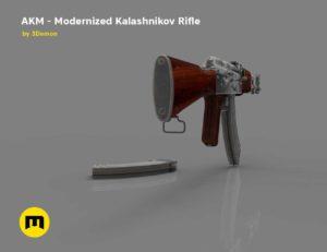 AKM - Modernized Kalashnikov Automatic Rifle