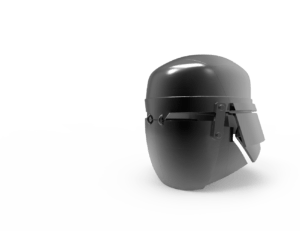 Heavy helmet - Knights of Ren - Star Wars universe 3D print model