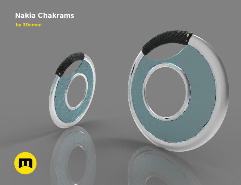 Nakia Chakrams 3D print model