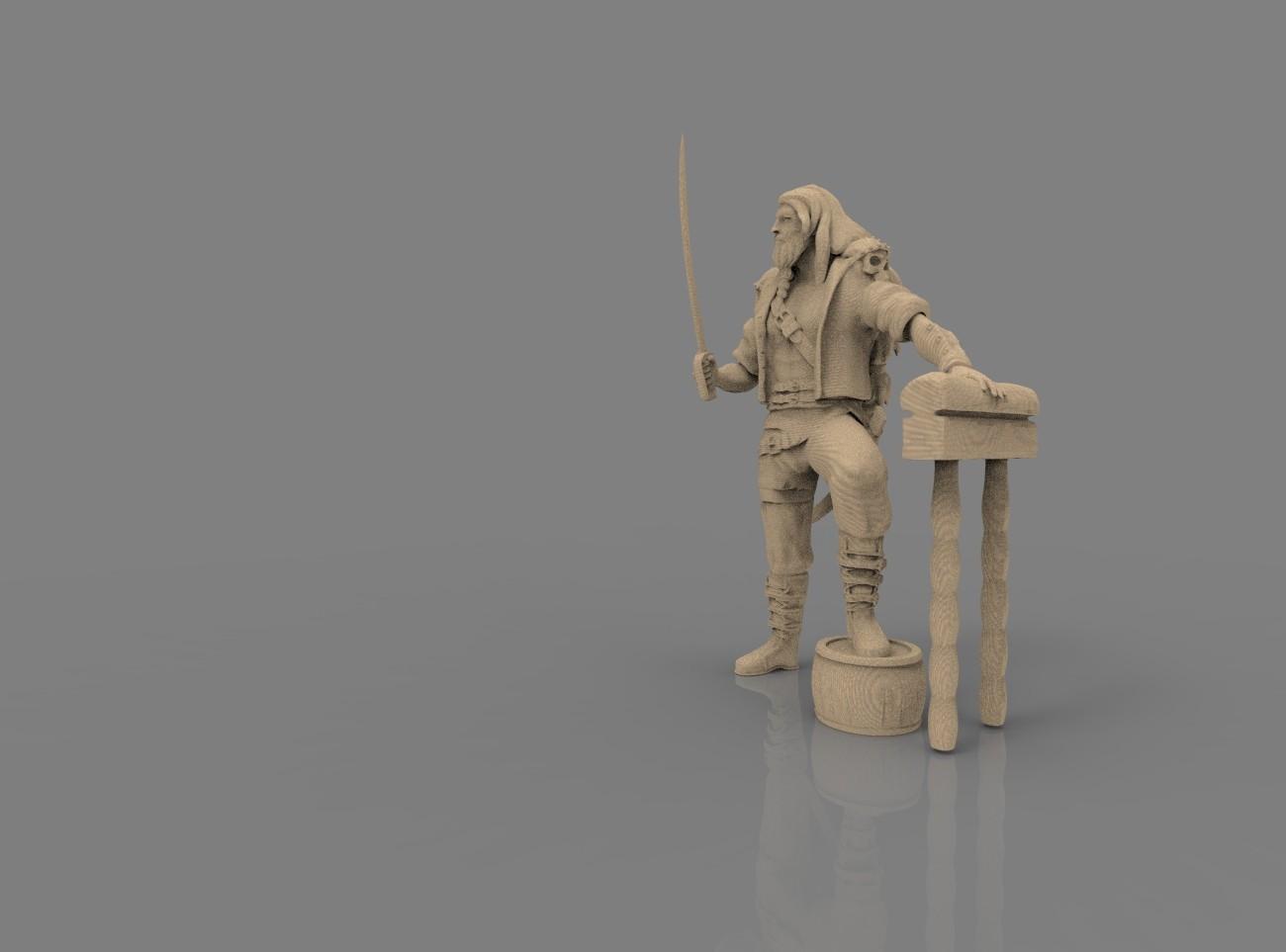 Kalmaron figure 3D print model