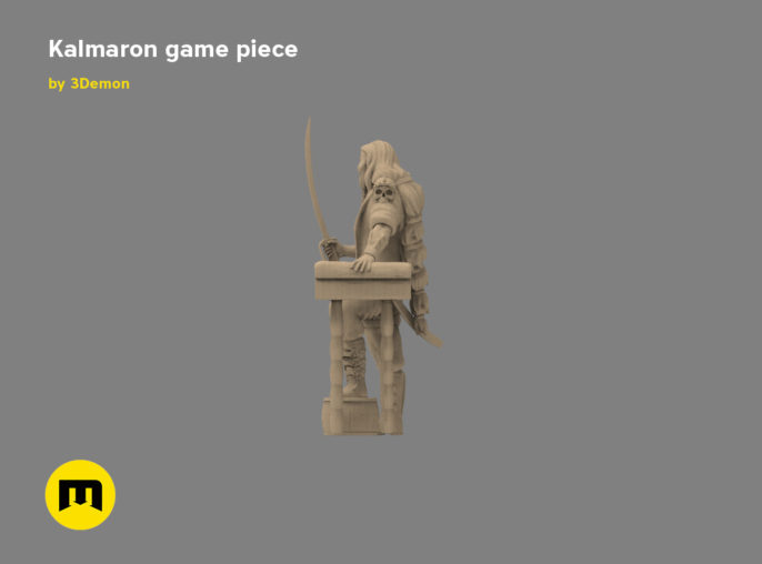 Kalmaron figure 3D print model