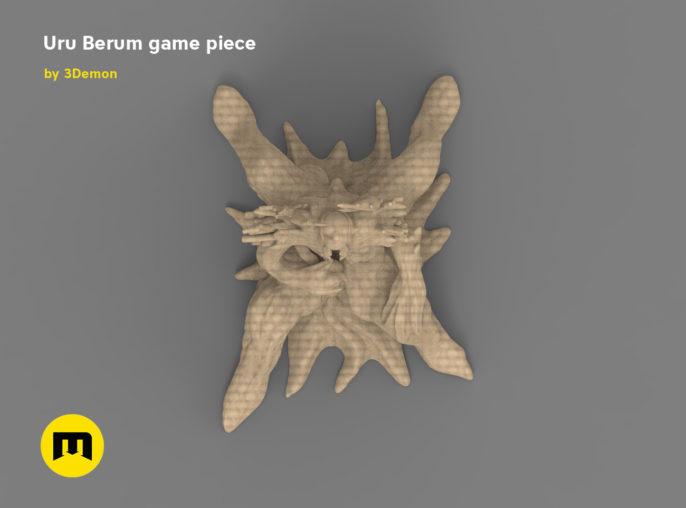 Uru Berum figure 3D print model