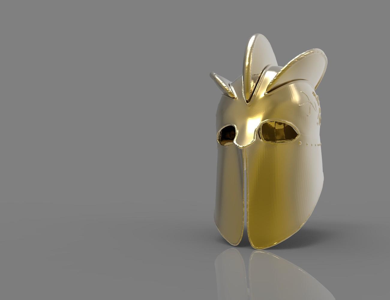 The Mountain Helmet - Game of Thrones 3D print model