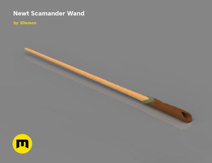 Wand Newt Scamander 3D print model