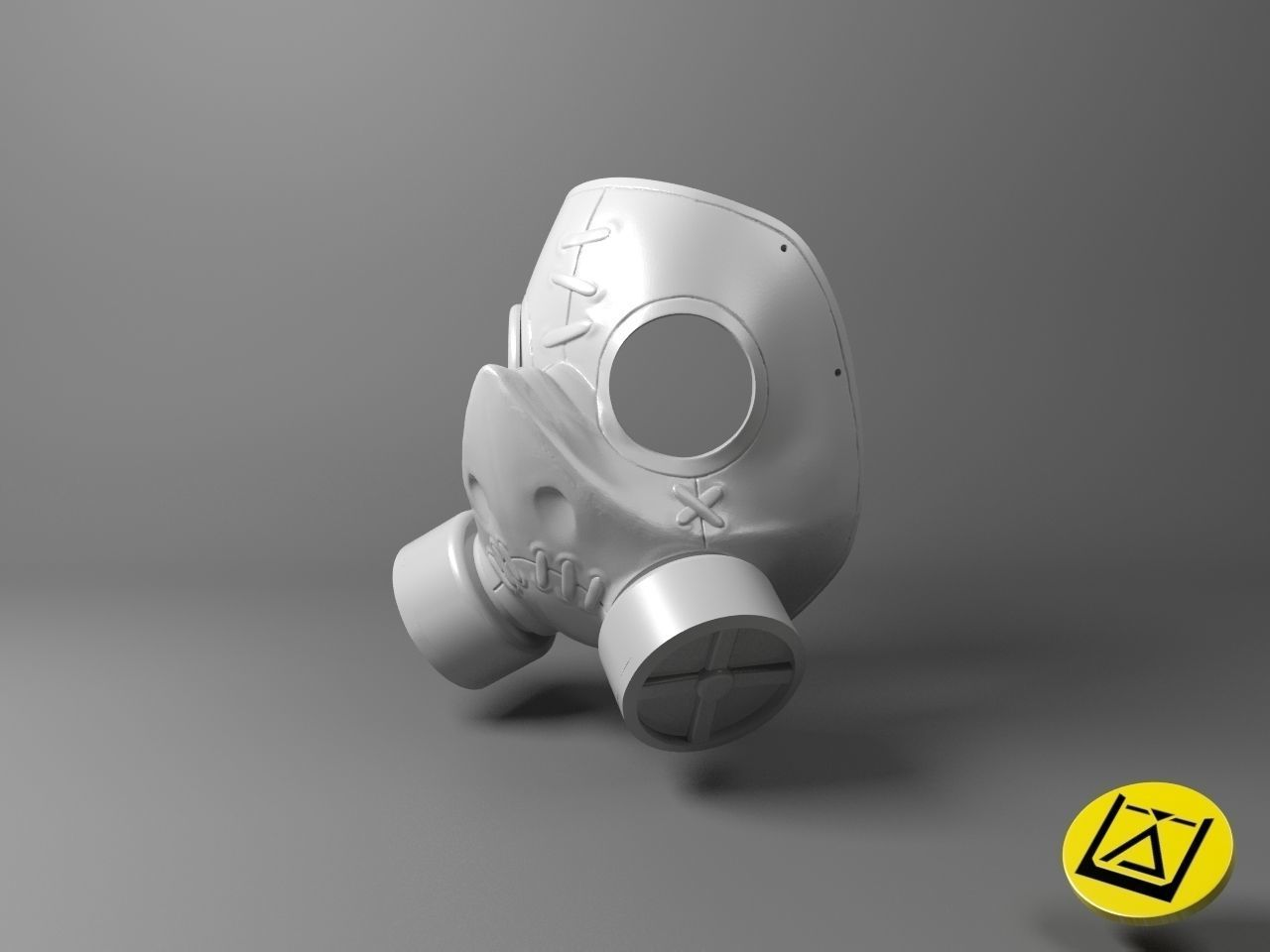 Roadhog mask - Overwatch game 3D print model
