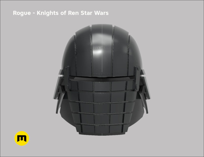 Rogue helmet - Knights of Ren - Star Wars universe 3D print model