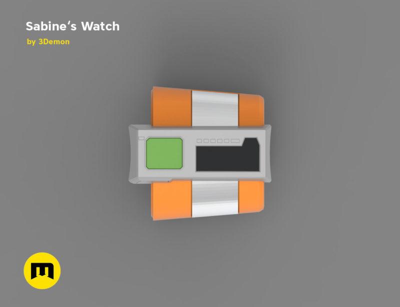 abine Wren Gauntlets from Star Wars 3D print model