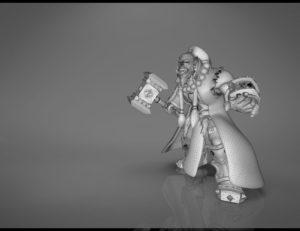 Thrall World of Warcraft 3D print model