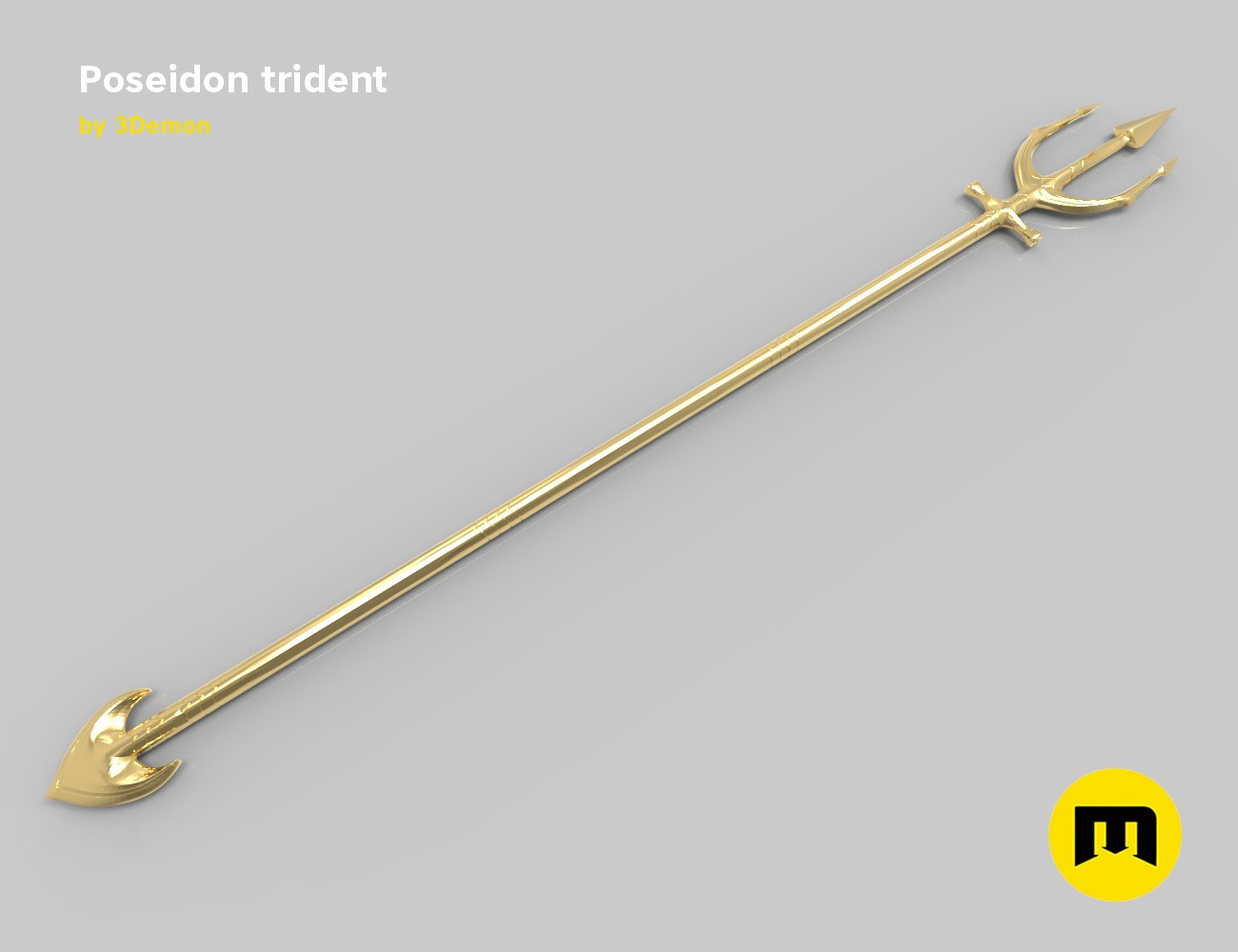 Trident Of Poseidon Aquaman
