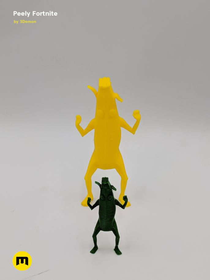 Peely Fortnite Banana Figure