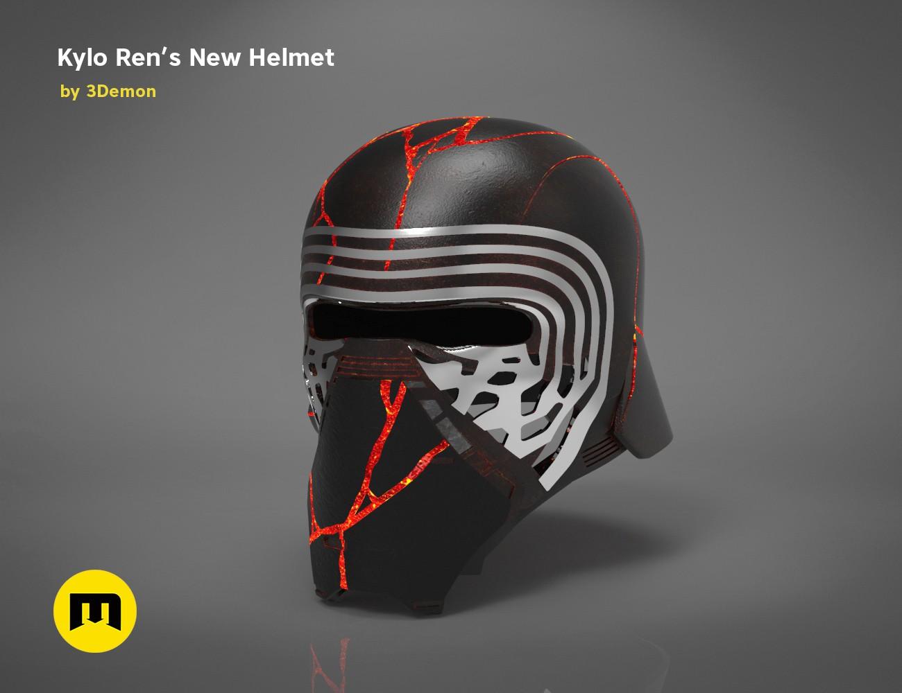 Enjoyable The Kylo Ren Helmet Destroyed Star Wars Download Free Architecture Designs Scobabritishbridgeorg
