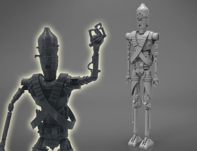 assassin droid ig-11 by 3D-mon