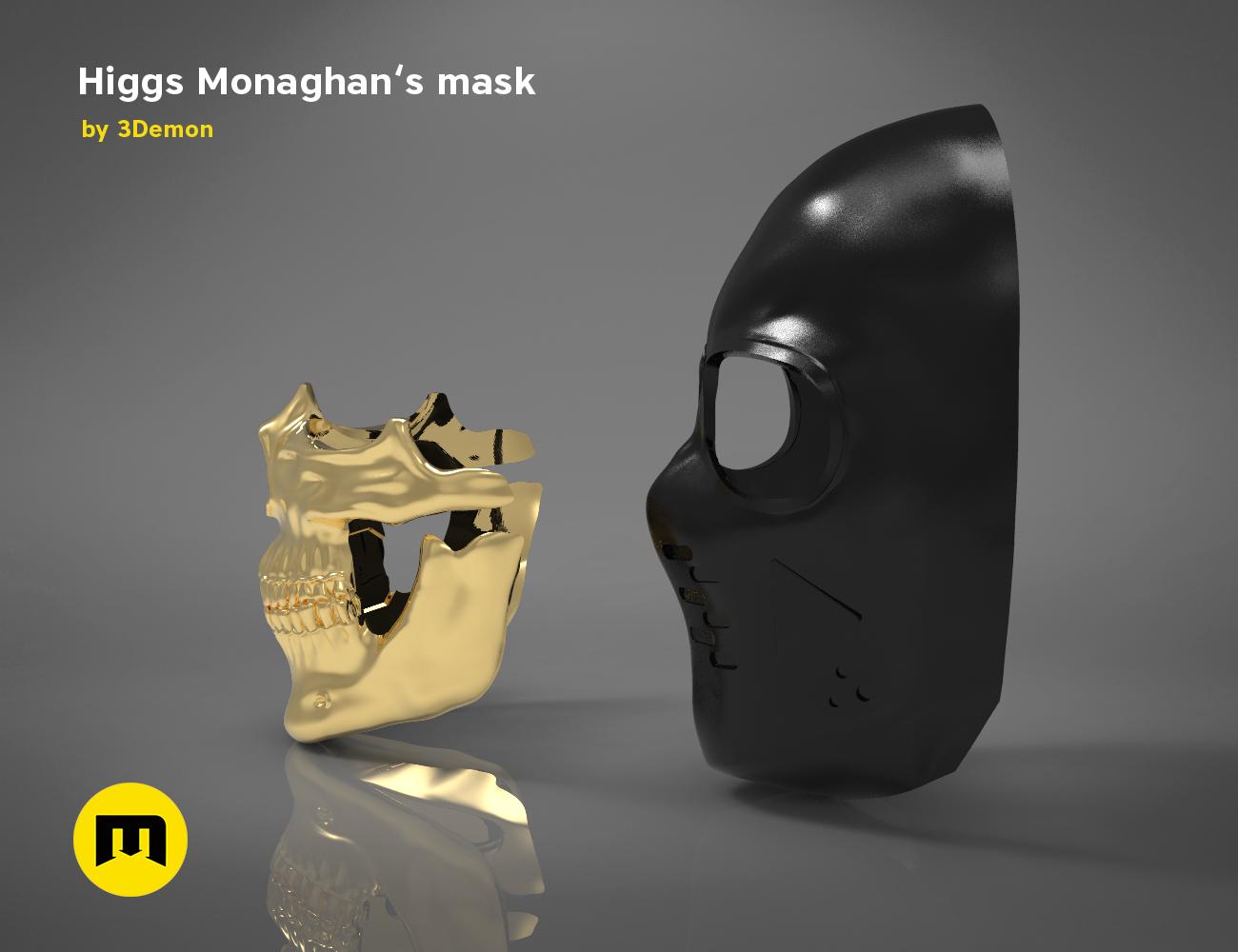 death stranding Higgs Mask Machera Figure