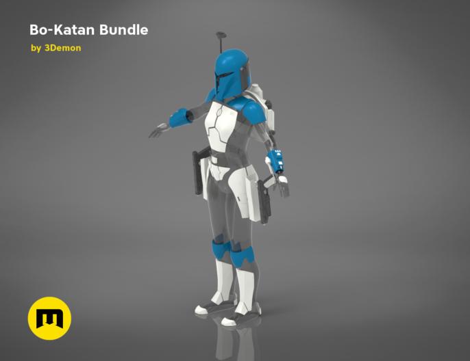 Bo Katan Bundle 3demon 3d Print Models Download