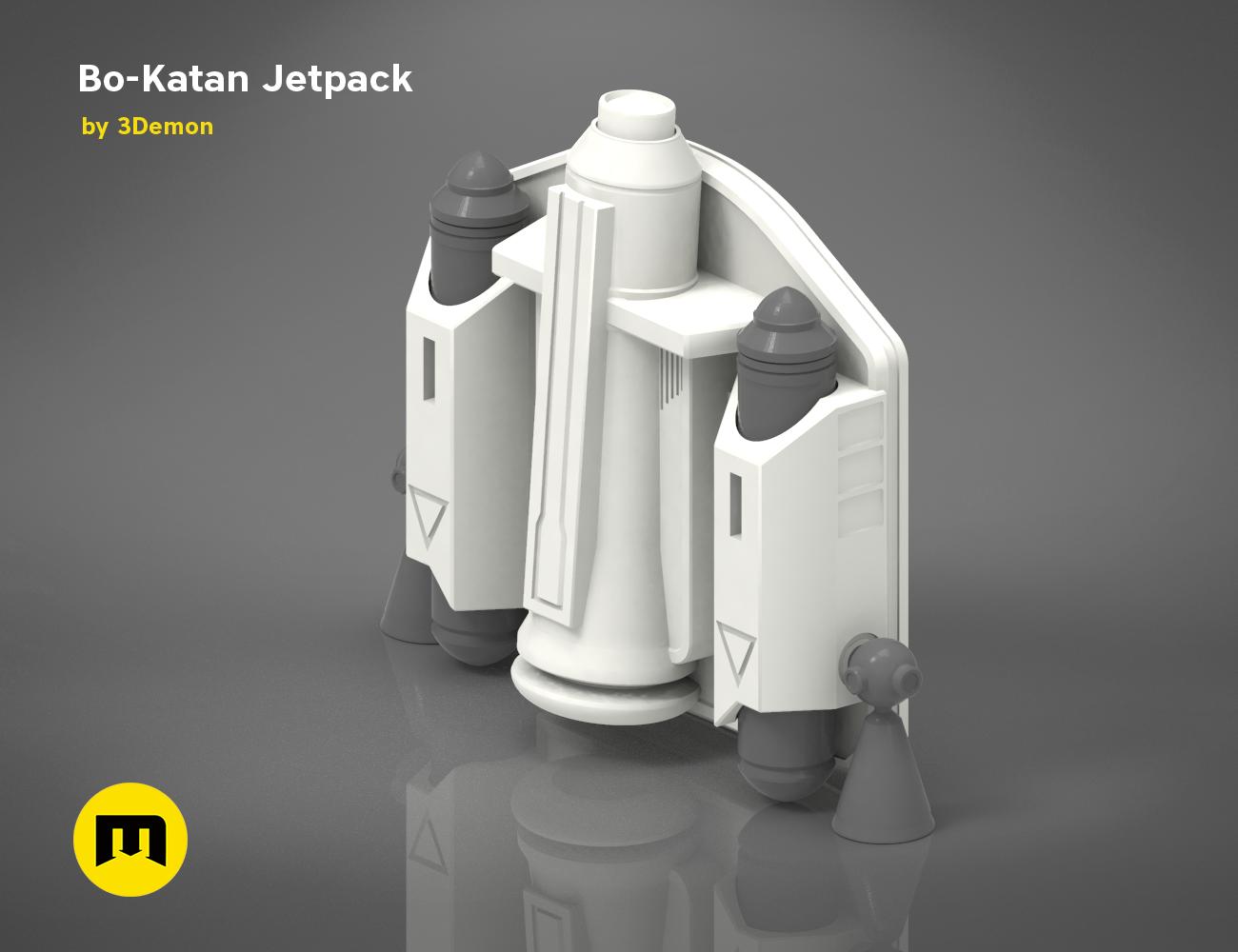 Bo Katan Jetpack 3demon 3d Print Models Download