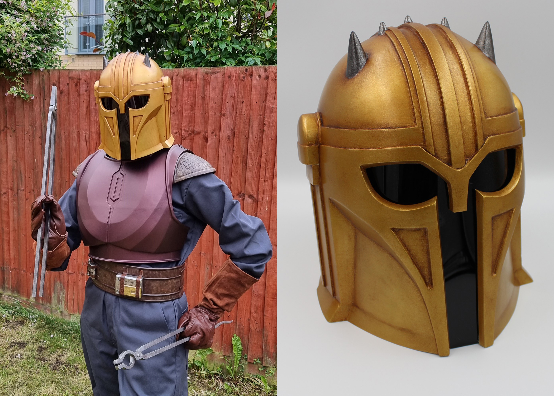armorer mandalorian 3d model cosplay
